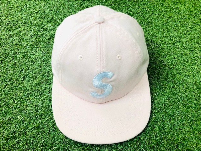 Supreme S-LOGO WOOL 6-PANEL CAP PINK 30IL 2480