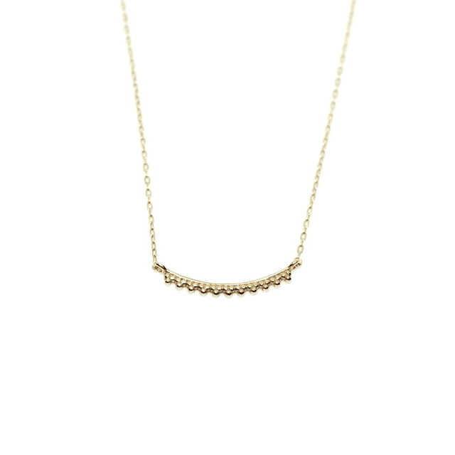 Granulation Necklace - straight