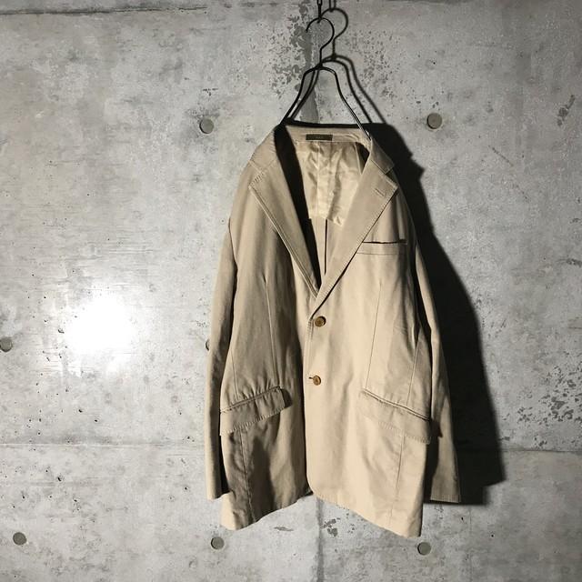 [Yohji Yamamoto]vintage thin brown jacket