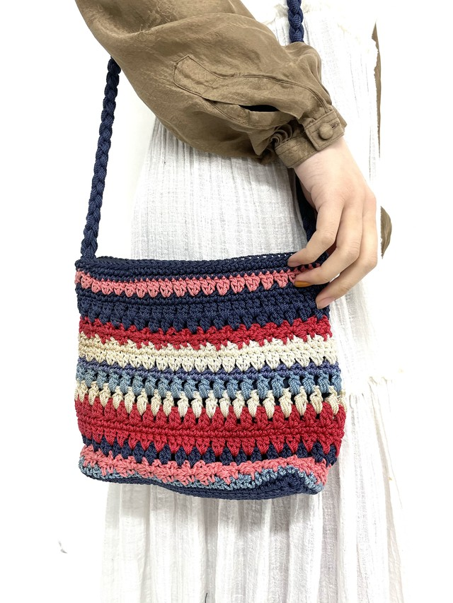 crochet shoulder bag / 2SSGD24-12