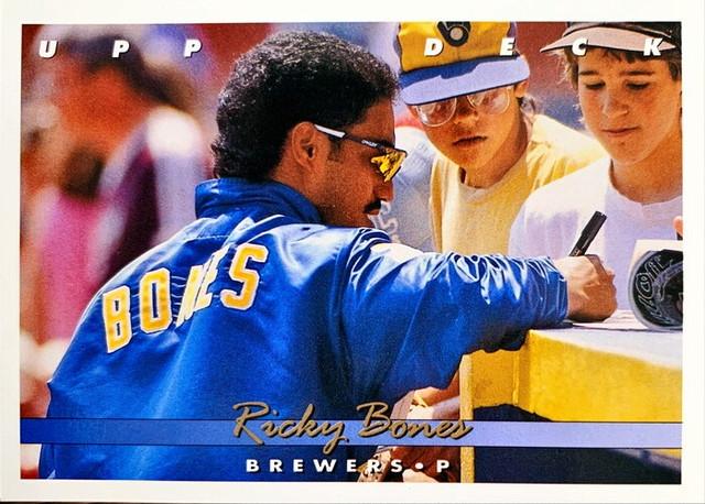MLBカード 93UPPERDECK Ricky Bones #328 BREWERS
