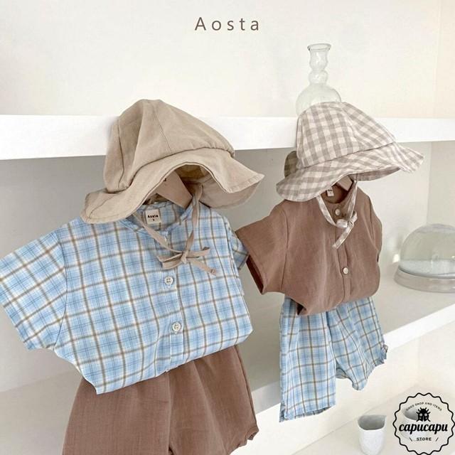 «予約» Aosta arsene shirt 2colors アルセーヌ シャツ