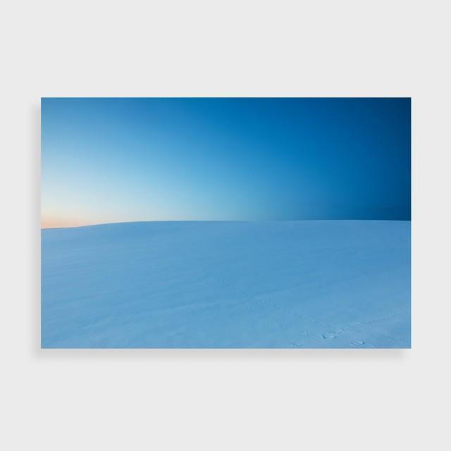 COLD BLUE ORIGINAL PRINT & FRAME No.03