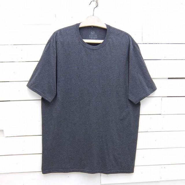 FRUIT OF THE LOOM フルーツオブザルーム 無地 半袖 Tシャツ ダークグレー メンズ 2XLサイズ