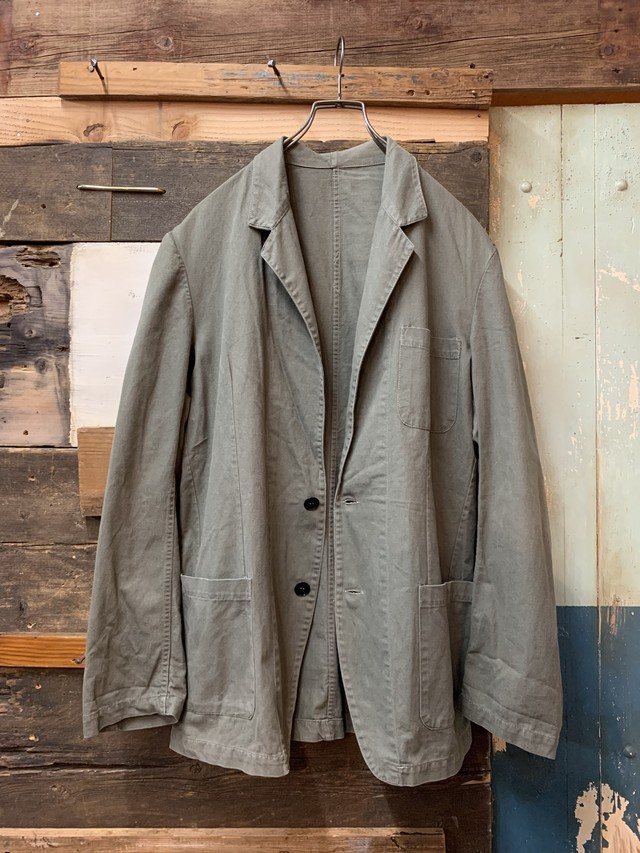 euro tailored work jacket