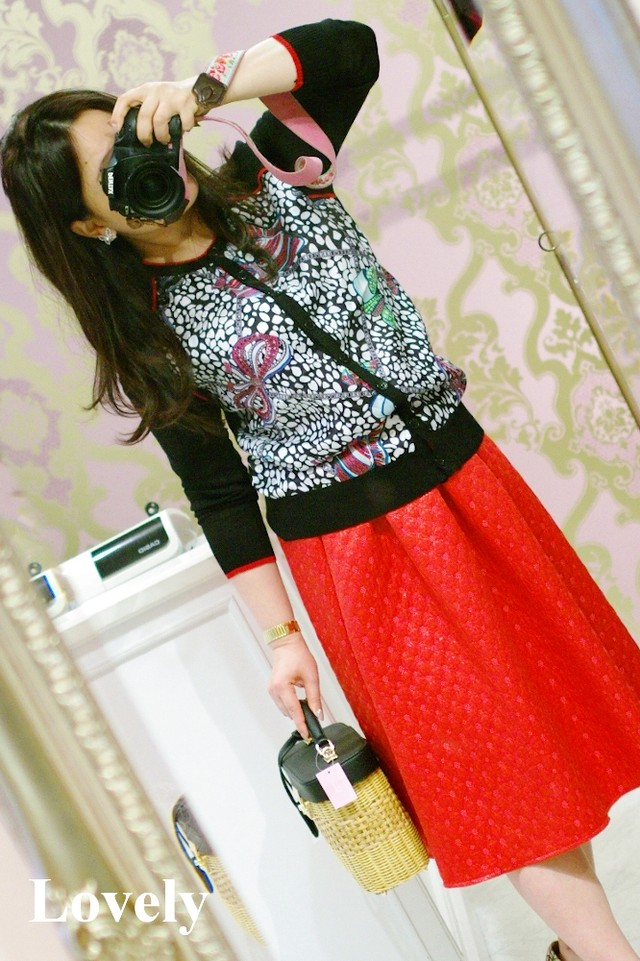 【アパレル・アウター】スカーフ カーディガン・300/ブラック