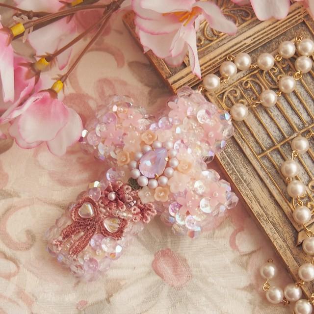 【受注製作】3月のお守り「桜の国」ペアシェイプ