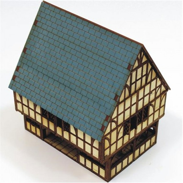【予約発注】 Timber Framed Market Hall and Jail 28S-ECW-101