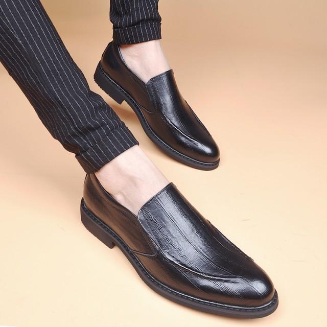 ローファー 革 レザー ビジネスシューズ メンズ 革靴 軽量 shs-1189