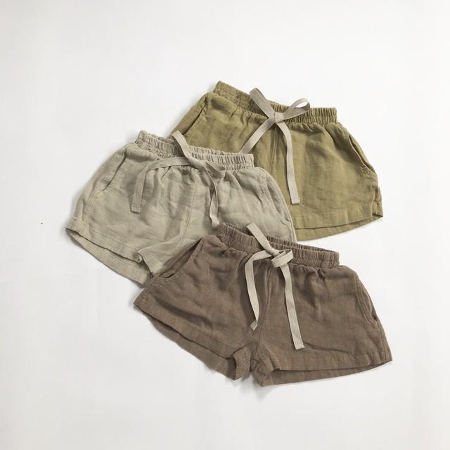 〈 226 〉three color short pants