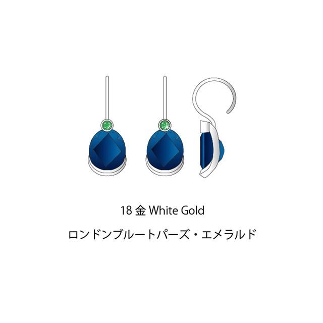 <予約商品>Muse Dot Earrings