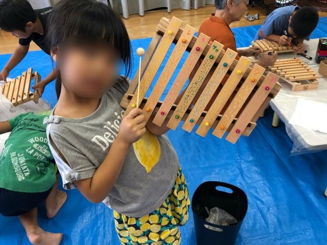 本格派!オリジナル木琴作り【楽器】