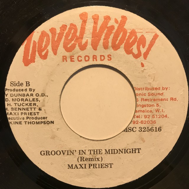 Maxi Priest - Groovin' In The Midnight【7-10812】