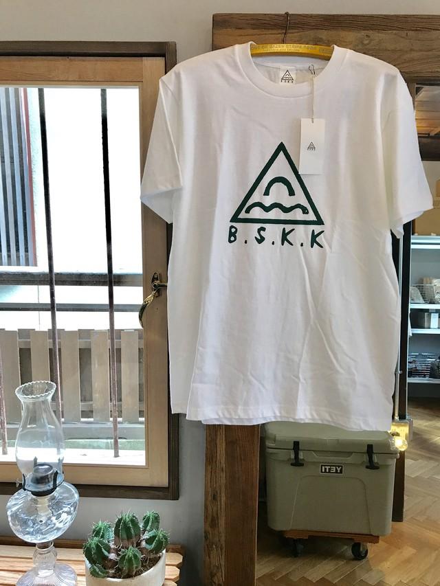 BSKK GREEN LOGO TEE