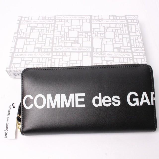 COMME des GARCONS コムデギャルソン 長財布 Black[全国送料無料] r016092