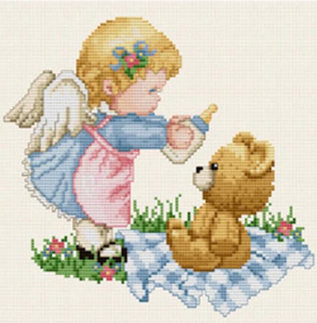 クロスステッチ図案「Baby Angel」:C-3032