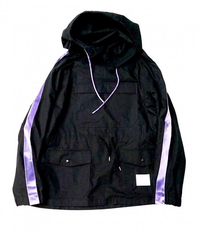 EFFECTEN(エフェクテン) hard bleach'EFFECTEN'logo hoodie