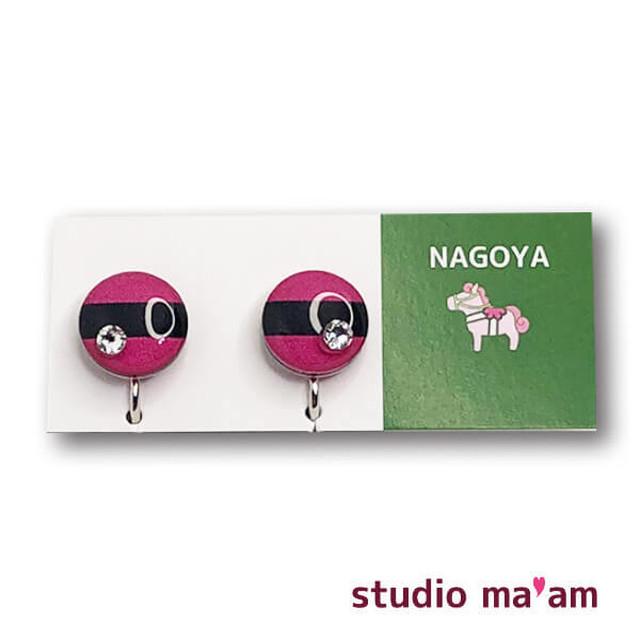 ■NAGOYA-08  イヤリング。まる。〜ピアス変更可〜