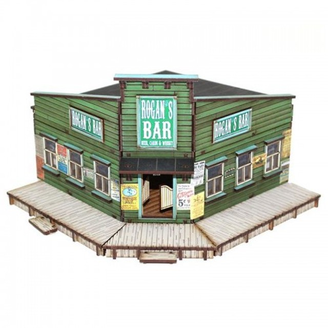 【予約発注】 DMH:   Feature Building 5: Rogan's Bar 28S-DMH-113