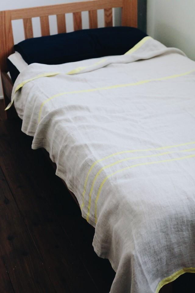 【LAPUAN KANKURIT(ラプアンカンクリ)】 USVA リネンブランケット(150×200cm)