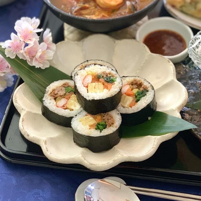 韓国海苔巻き キンパ