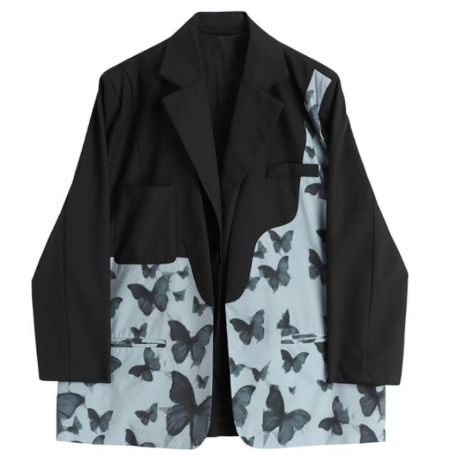 バタフライ ツーピース スーツ ジャケット【R0458】