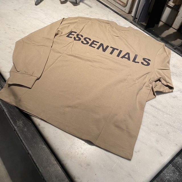 ESSENTIALS【エッセンシャルズ】3M Long Sleeve T-shirt (TWILL) SIZE:M.