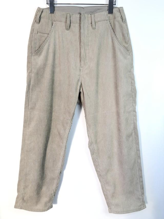 50%OFF【bukht】BIG CORD PANTS