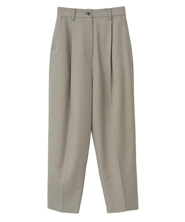 【CLANE】J/W COCCON TUCK PANTS 10110-7162