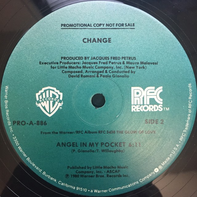 Change ‎– Searching / Angel In My Pocket