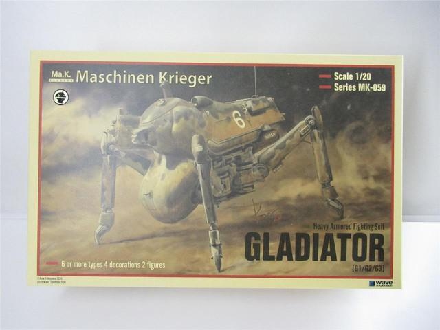 GLADIATOR - SF3D/MA.K - WAVE 1/20 Plastic Model Kit MK-059