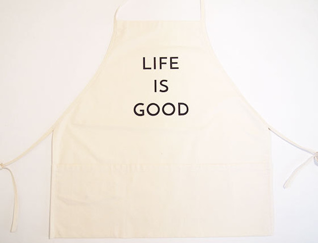 "エプロン ""APRON"" (LIFE IS GOOD)"