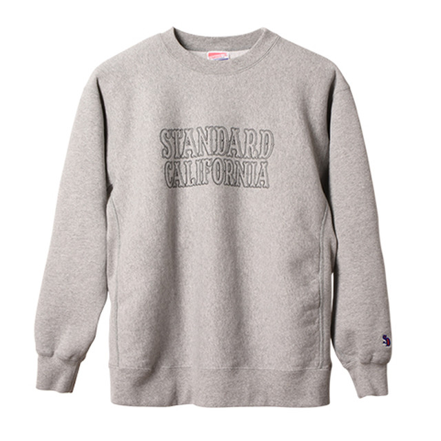 STANDARD CALIFORNIA #SD R.W. Logo Sweat Gray