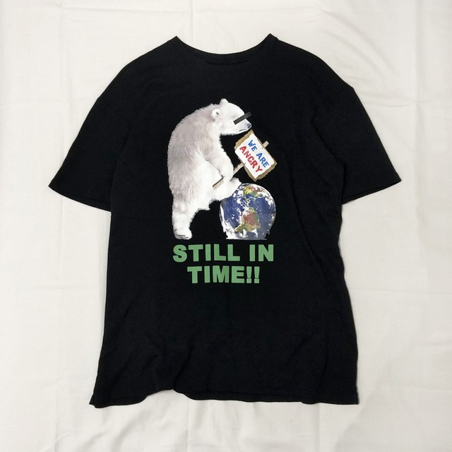 """STILL IN TIME"" ORGANIC COTTON BIG T-SHIRT 【受注生産】"