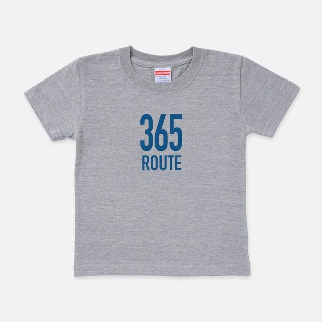 Tシャツ[Route8:キッズ]R365 ミックスグレー色