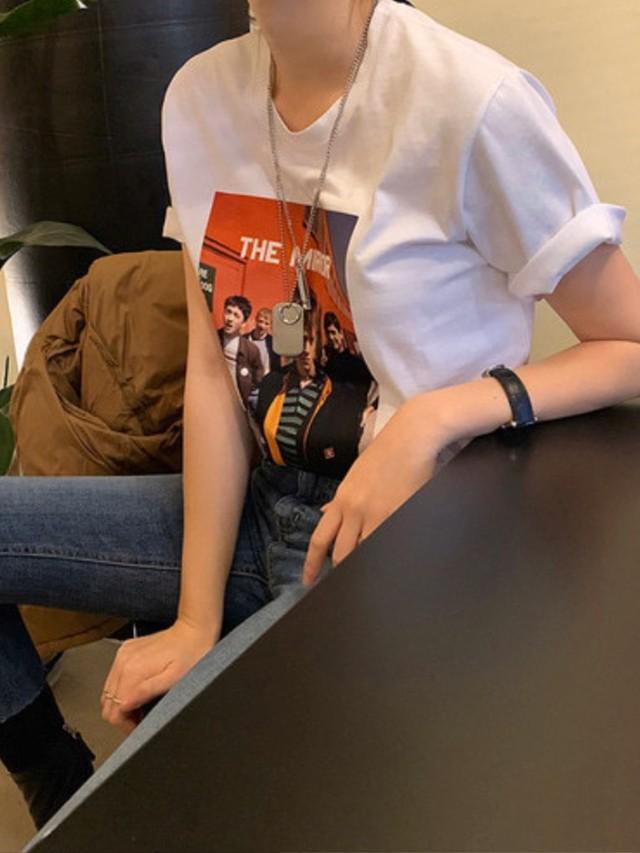 TheMirrorTシャツ Tシャツ トップス 韓国ファッション
