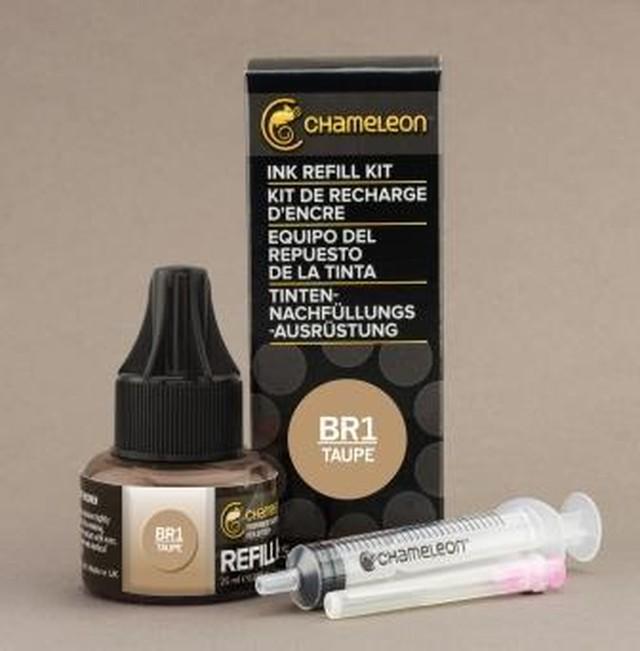 Chameleon Pen Ink Refill 25ml Taupe BR1 (カメレオンペン 詰替え用インク BR1)