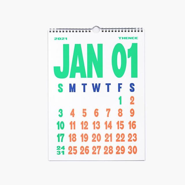 2021 壁掛けカレンダー