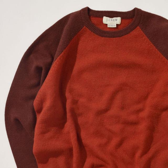 【Lサイズ】J.CREW ジェイクルー Sweater セーター ORG オレンジ 400604191109
