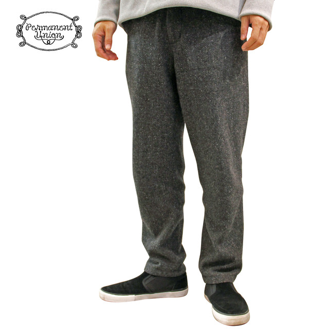Permanent Union Relax Wool Slacks