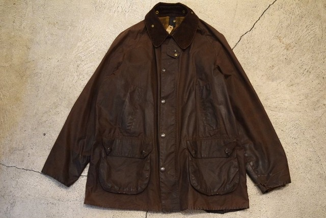 USED 90s Barbour BEDALE -42 J0625