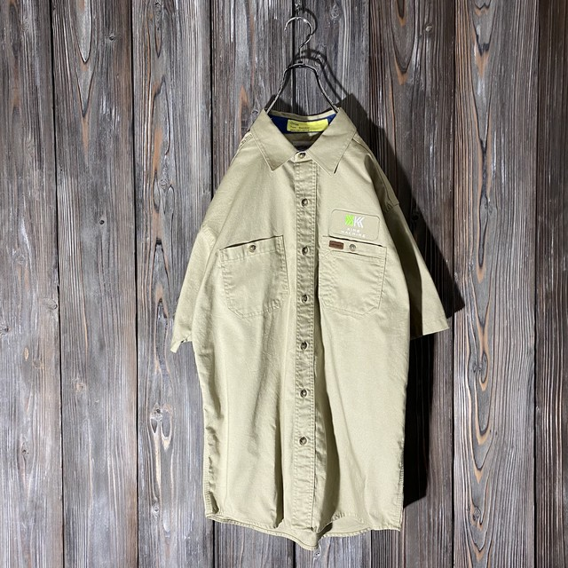 [Carhartt]khaki work shirt