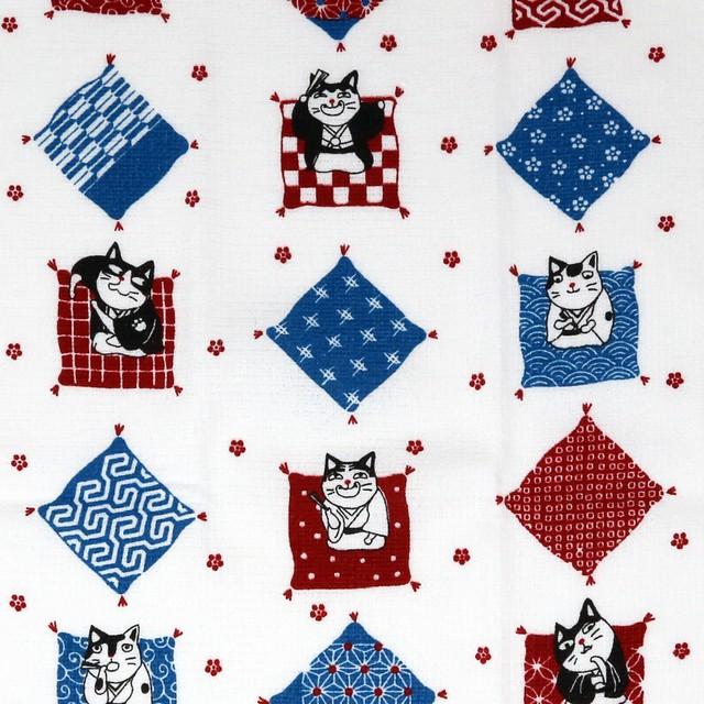 猫タオル手拭い(タオルてぬぐい)寄席猫