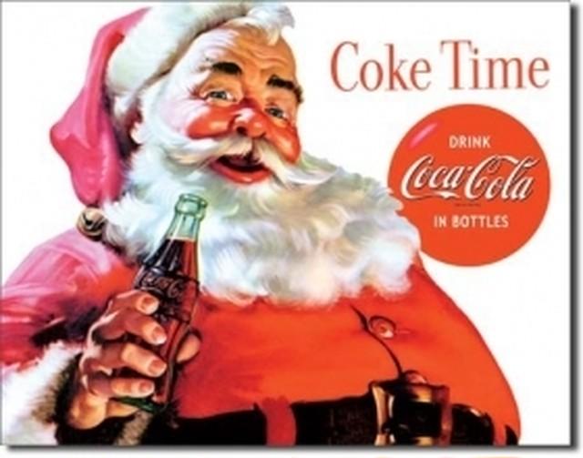 引続きセール主力商品20%OFF! コカコーラ Coca Colla  1046【ブリキ看板】 【ティンプレート】