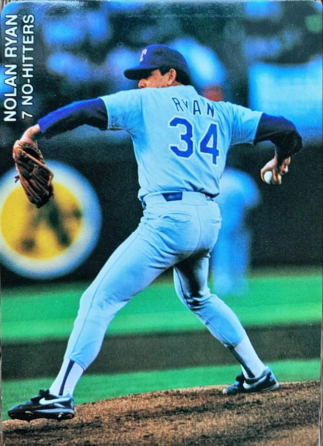 MLBカード 92SCORE Nolan Ryan  4枚セット RANGERS