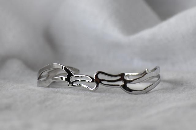 Arabesque Design Bangle 3 silver アラベスクデザインバングル 3 (シルバー)