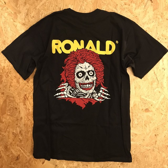 【T-shitrs】McRIPPER TEE by Allister Lee
