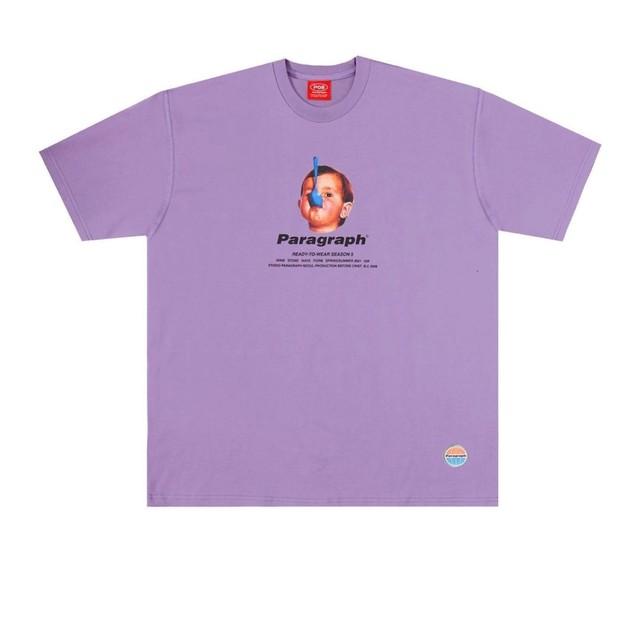 【PARAGRAPH】スプーンボーイプリントTシャツ