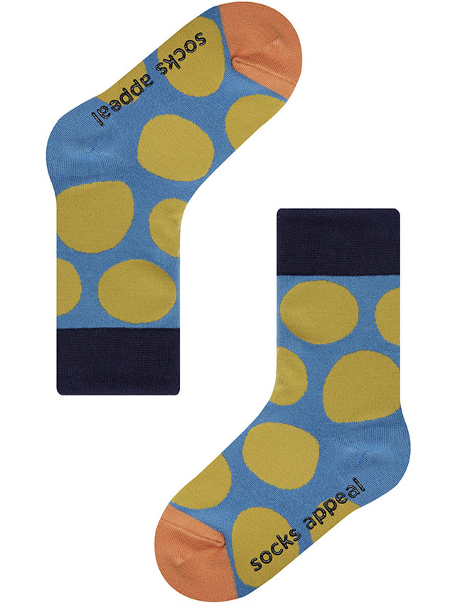 KIDS PEBBLE DOT BLUE