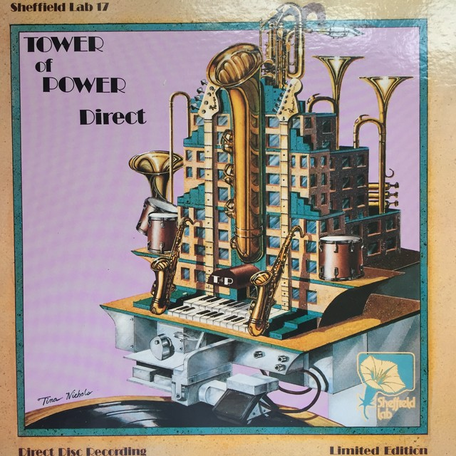 Tower Of Power ‎– Direct